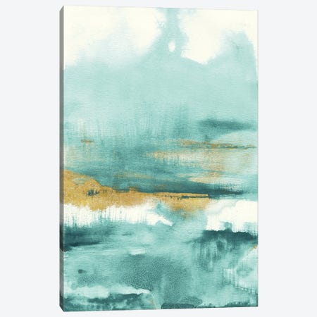 Blue Saffron I Canvas Print #NAI277} by Danhui Nai Art Print