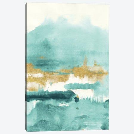 Blue Saffron II Canvas Print #NAI278} by Danhui Nai Canvas Art