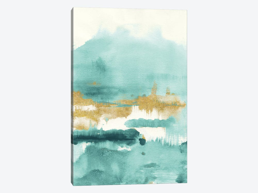 Blue Saffron II by Danhui Nai 1-piece Canvas Wall Art