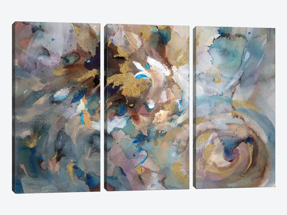 Gale by Danhui Nai 3-piece Canvas Wall Art