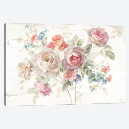 Cottage Garden I Canvas Print #NAI28} by Danhui Nai Canvas Art
