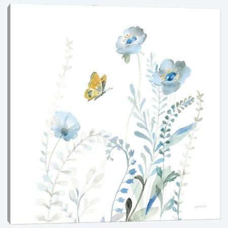 Blues of Summer VI Canvas Print #NAI292} by Danhui Nai Canvas Artwork