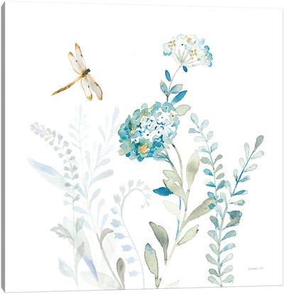 Blues of Summer VII Canvas Art Print