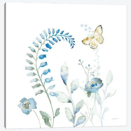 Blues of Summer VIII Canvas Print #NAI294} by Danhui Nai Canvas Print