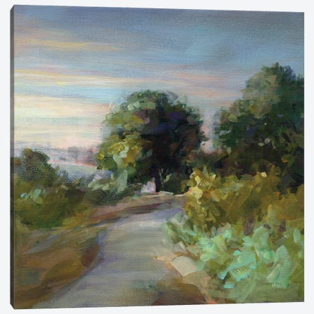 Eucalyptus Trail Canvas Print #NAI295} by Danhui Nai Canvas Print