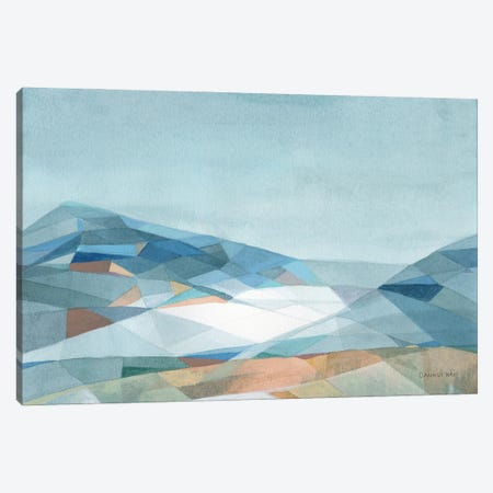 Geometric Mountain Canvas Print #NAI296} by Danhui Nai Canvas Art Print