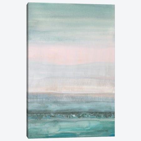 Pastel Seascape Canvas Print #NAI297} by Danhui Nai Art Print