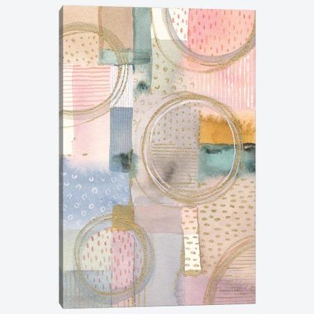 Circle Stories I Canvas Print #NAI298} by Danhui Nai Canvas Art