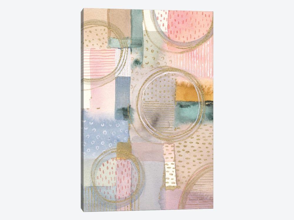 Circle Stories I by Danhui Nai 1-piece Canvas Artwork