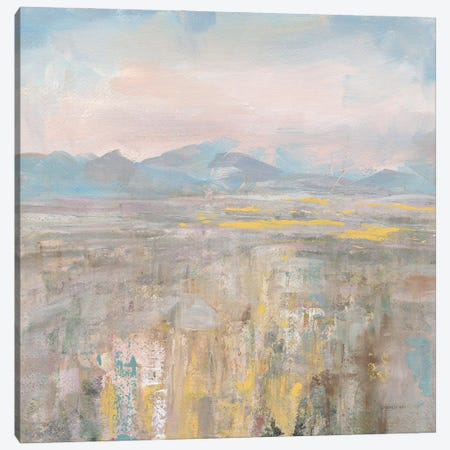 Distant Mountains Canvas Print #NAI303} by Danhui Nai Canvas Artwork