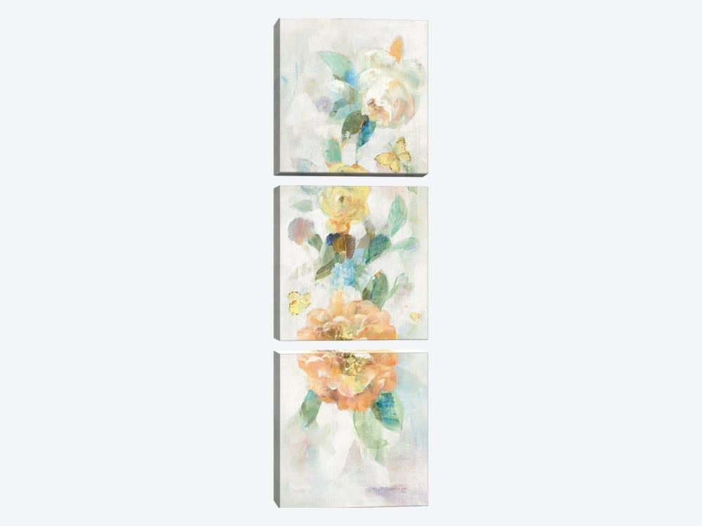 Natural Blooming Splendor IV by Danhui Nai 3-piece Canvas Art