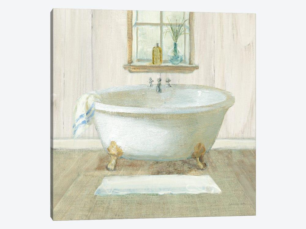 Farmhouse Bathtub by Danhui Nai 1-piece Canvas Print