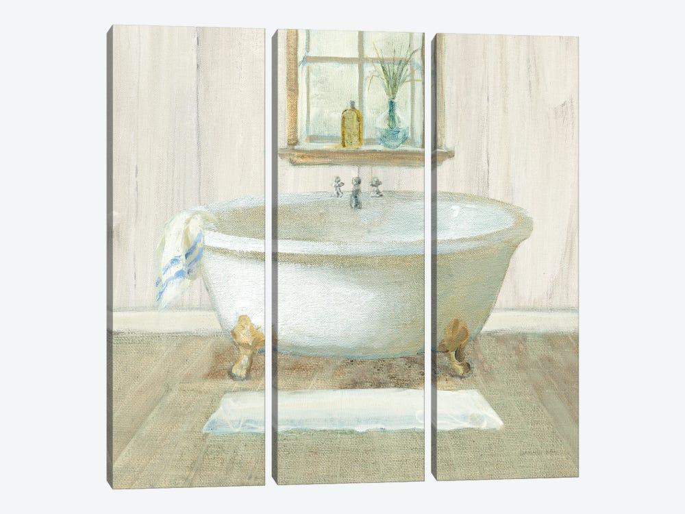 Farmhouse Bathtub by Danhui Nai 3-piece Art Print