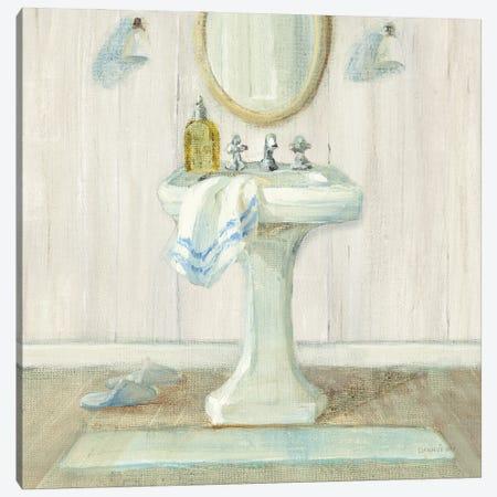 Farmhouse Sink Canvas Print #NAI329} by Danhui Nai Canvas Art