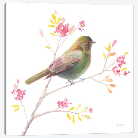 Flight Friends I Canvas Print #NAI330} by Danhui Nai Art Print