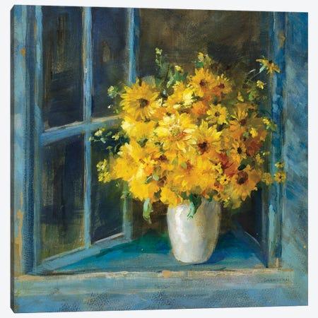 Sunny Windowsill Canvas Print #NAI353} by Danhui Nai Canvas Print