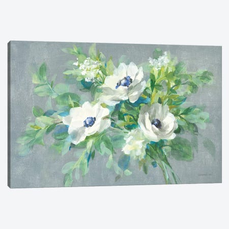 Bouquet For You Canvas Print #NAI58} by Danhui Nai Art Print