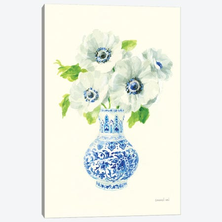 Floral Chinoiserie I Canvas Print #NAI63} by Danhui Nai Canvas Wall Art
