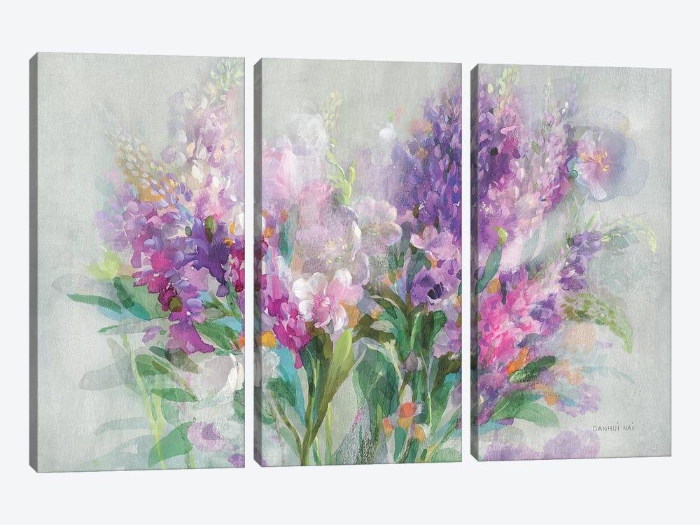 Garden Abundance by Danhui Nai 3-piece Canvas Art