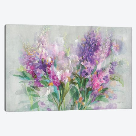 Garden Abundance Canvas Print #NAI67} by Danhui Nai Art Print