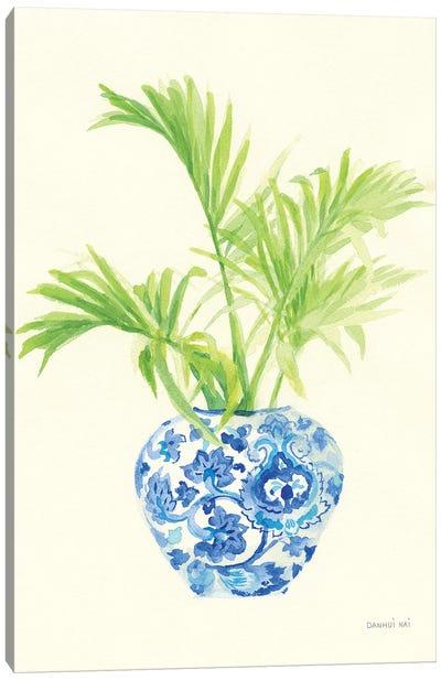 Palm Chinoiserie II Canvas Art Print
