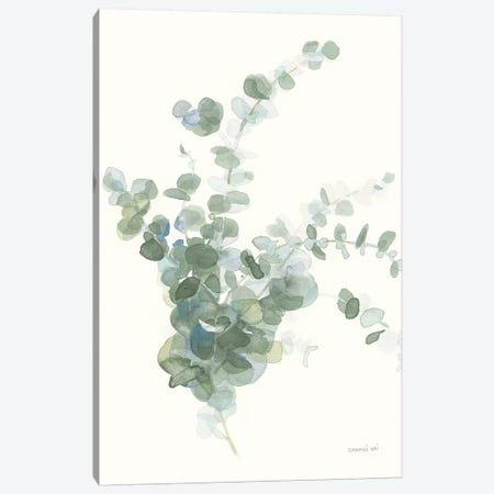 Scented Sprig II Cool Canvas Print #NAI74} by Danhui Nai Canvas Artwork