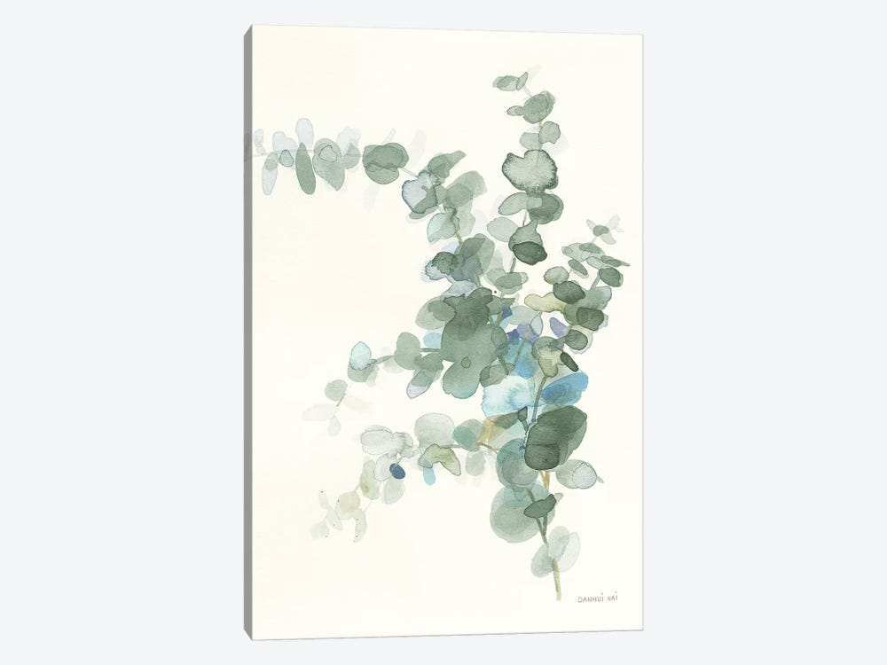 Scented Sprig III Cool by Danhui Nai 1-piece Canvas Art Print