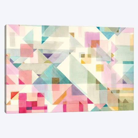 Try Angles I Canvas Print #NAI79} by Danhui Nai Canvas Print