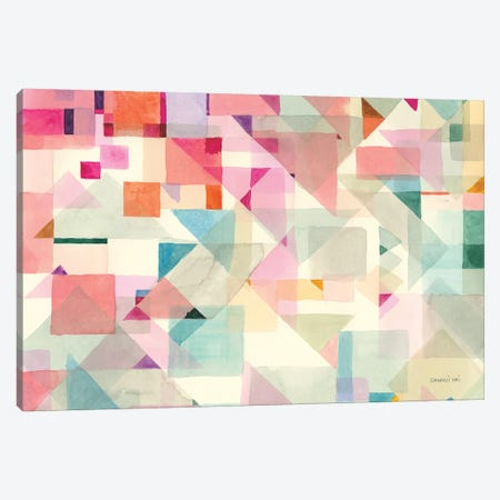 Try Angles II Canvas Print #NAI80} by Danhui Nai Canvas Art