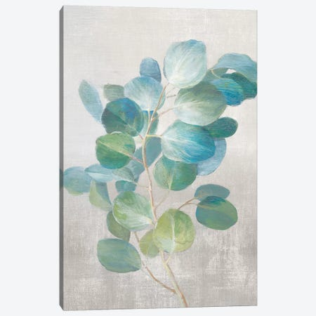 Fresh I Gray Canvas Print #NAI96} by Danhui Nai Canvas Art