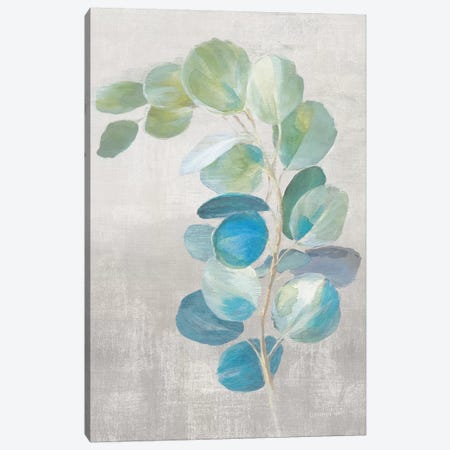 Fresh II Gray Canvas Print #NAI97} by Danhui Nai Canvas Artwork