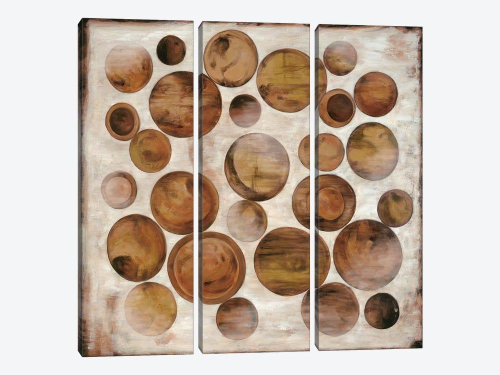 Association I by Natalie Alexander 3-piece Canvas Art