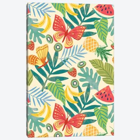Summer Fun In The Sun VII Canvas Print #NAM18} by Natalie Miles Canvas Print