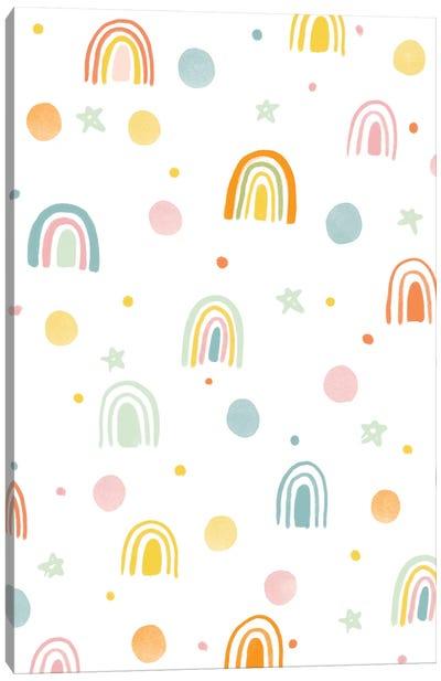 Baby Rainbow Paradise II Canvas Art Print