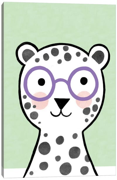 Baby Colorful Glasses I Canvas Art Print