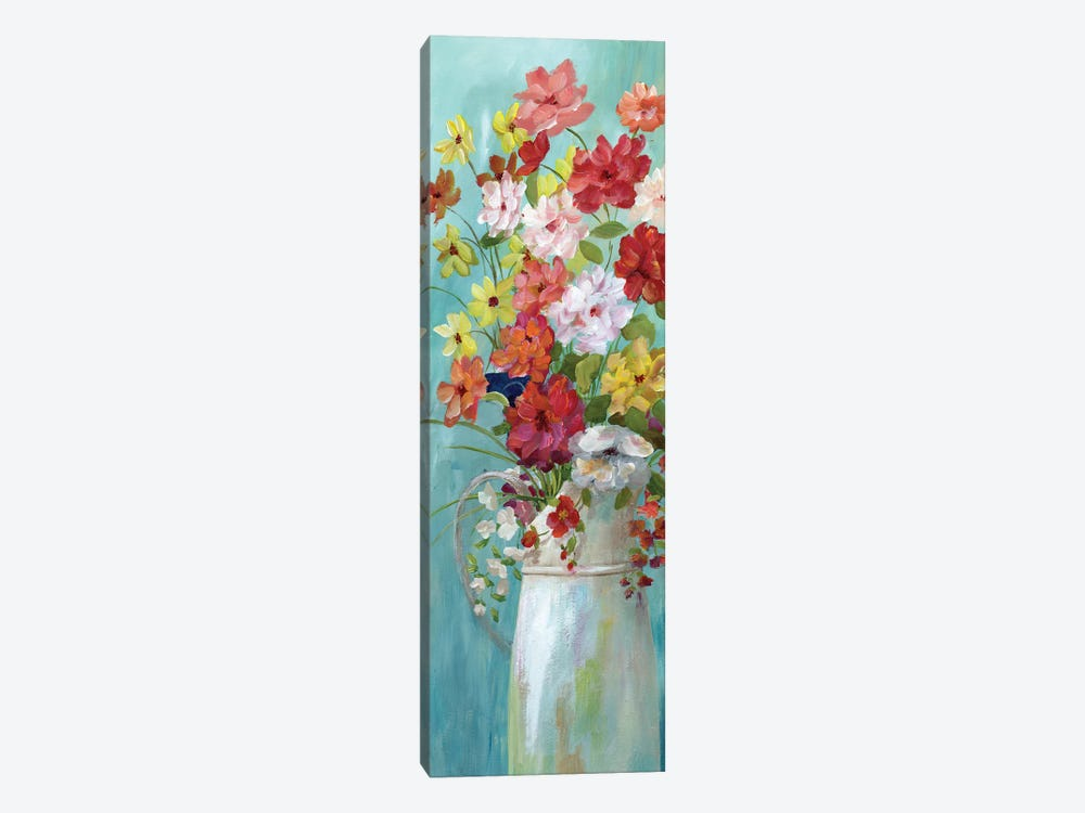 Country Bouquet I by Nan 1-piece Canvas Wall Art