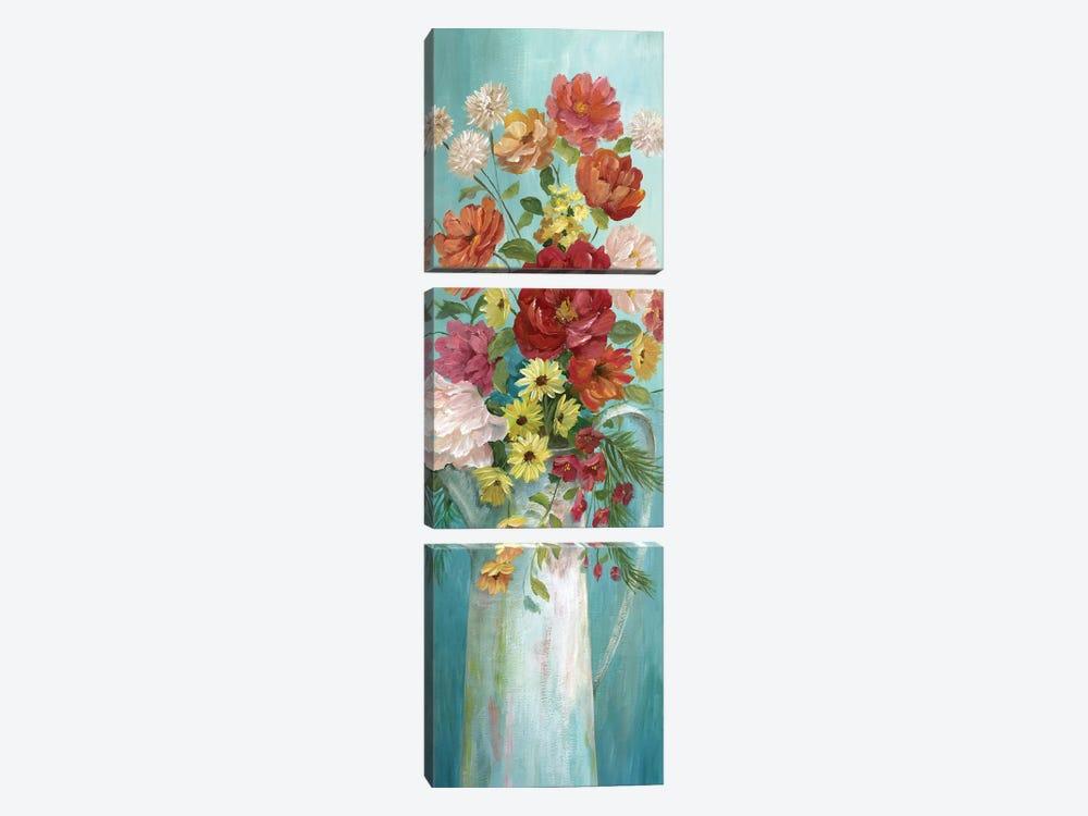 Country Bouquet II by Nan 3-piece Art Print