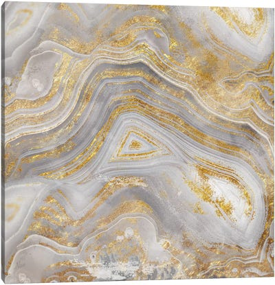 Agate Allure II Canvas Art Print