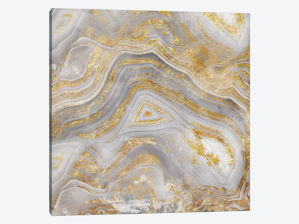 Agate Allure II by Nan 1-piece Canvas Print