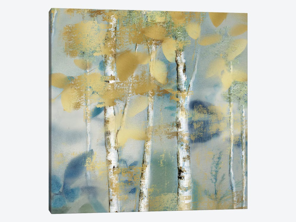 Gilded Forest Detail I by Nan 1-piece Canvas Art