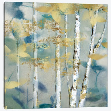 Gilded Forest Detail II Canvas Print #NAN113} by Nan Canvas Artwork