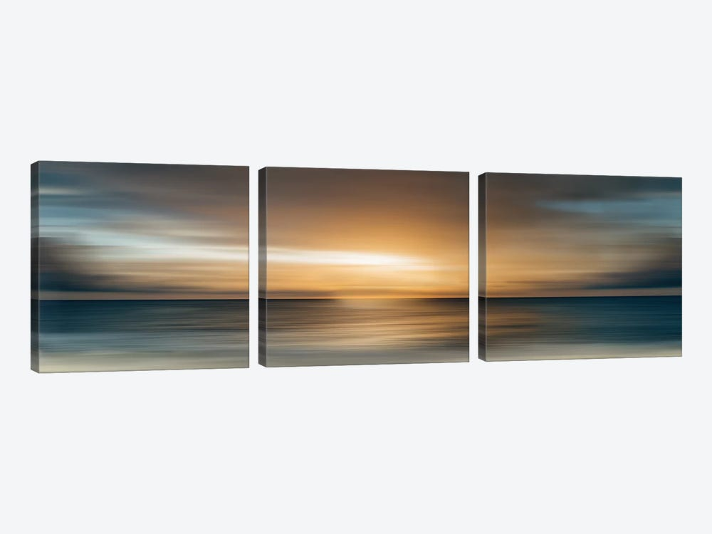 In The Beginning by Nan 3-piece Canvas Art Print