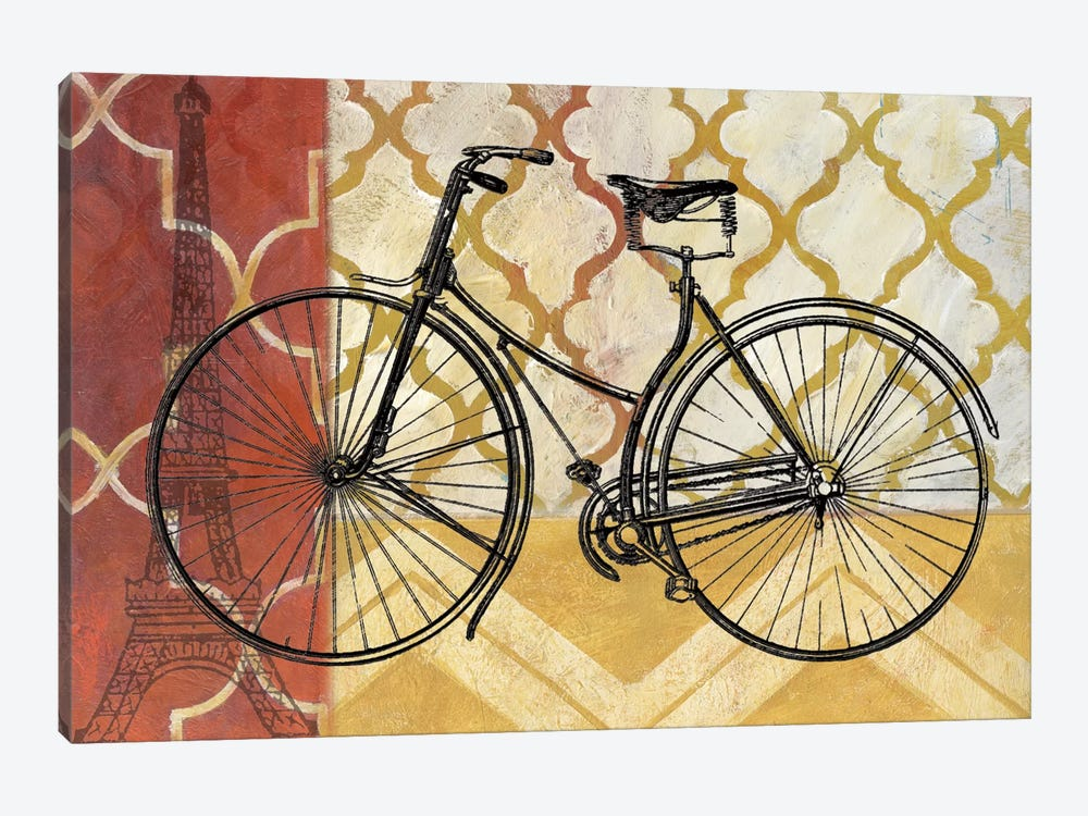 Cyclisme III by Nan 1-piece Canvas Artwork