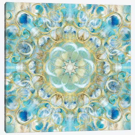 Kaleidoscope Encircled Canvas Print #NAN120} by Nan Art Print