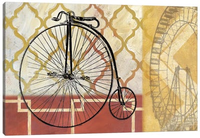 Cyclisme IV Canvas Art Print