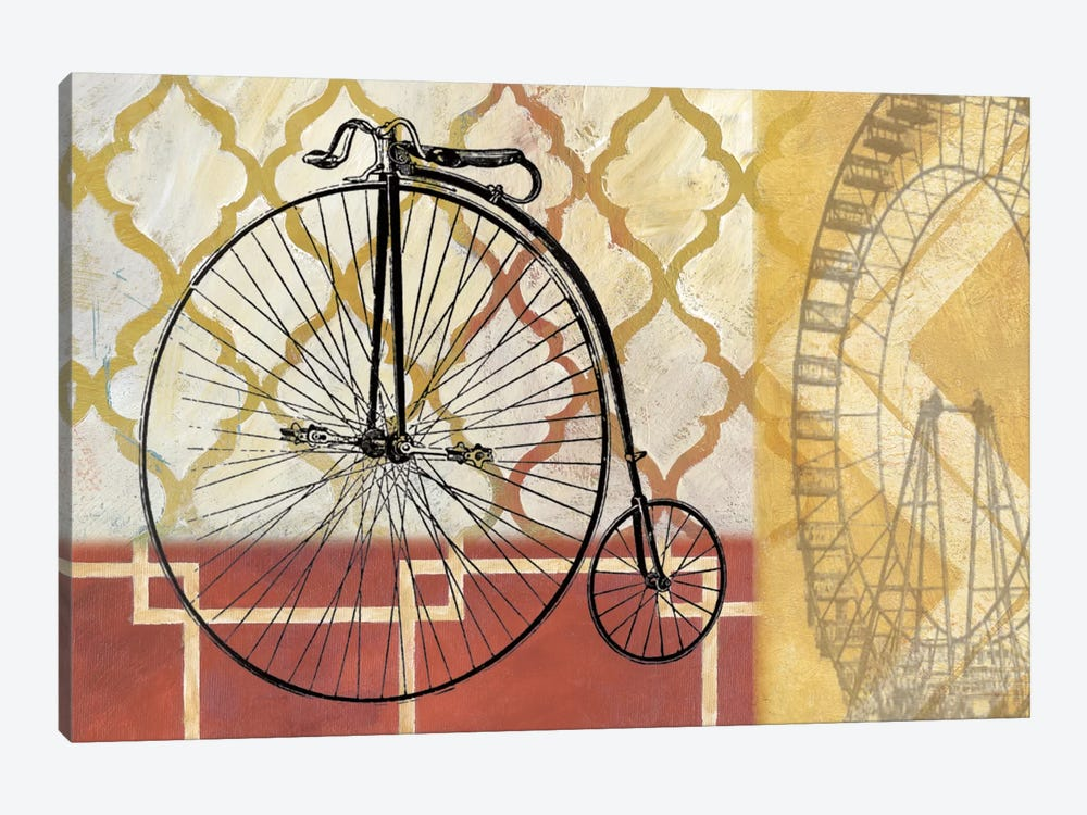 Cyclisme IV by Nan 1-piece Canvas Print