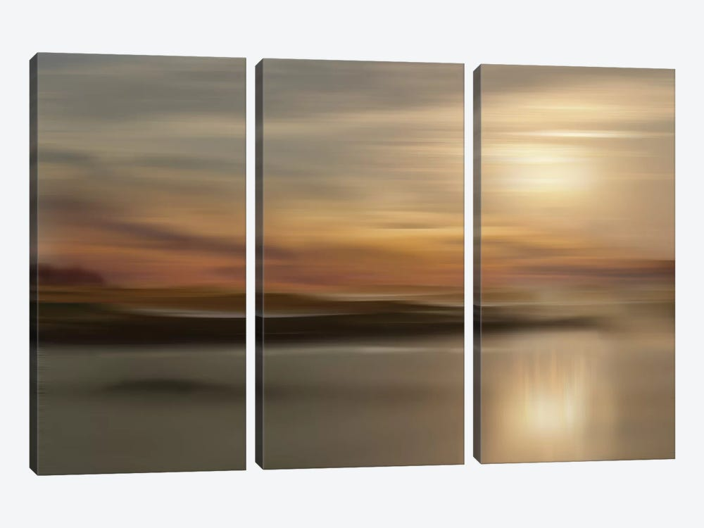 Mystic Lake by Nan 3-piece Canvas Artwork