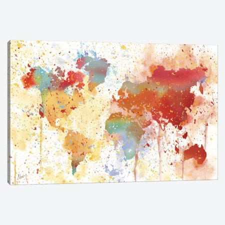 Traveled The World Canvas Print #NAN13} by Nan Canvas Art