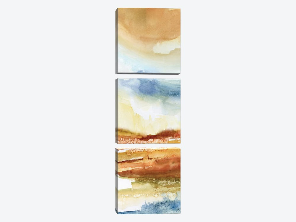 Puesta de Sol I by Nan 3-piece Canvas Art Print