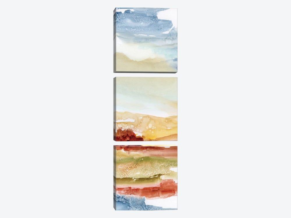 Puesta de Sol II by Nan 3-piece Canvas Art
